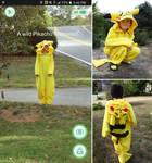Pikachu kigurumi