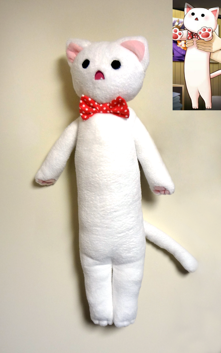 Long cat plush