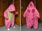 Pink quaggan kigurumi