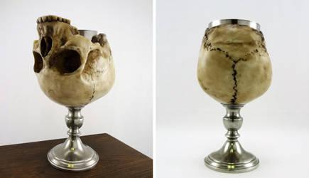 Skull chalice by Koreena