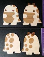 Maple quaggan ornaments by Koreena