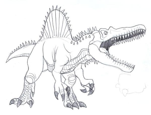 Spinosaurus by Undershock on DeviantArt
