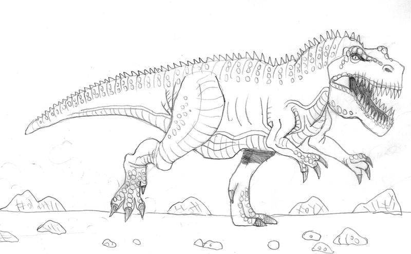 giganotosaurus by undershock on deviantart