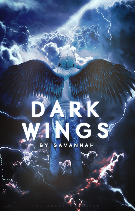 [ Wattpad Cover Request ] - Dark Wings by ineffablely