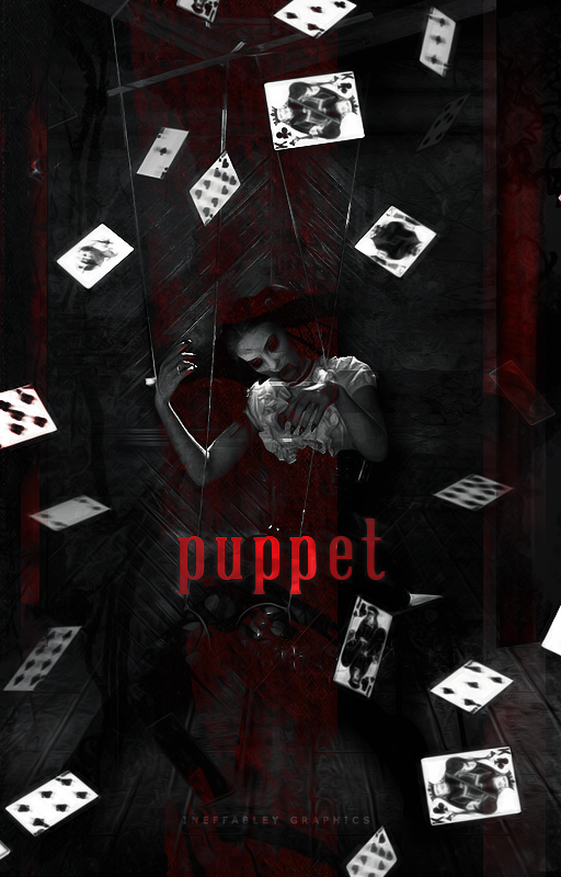[ Wattpad Cover ] - Puppet by ineffablely