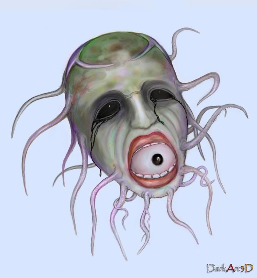 Crazy Mask By DarkArt3D On DeviantArt