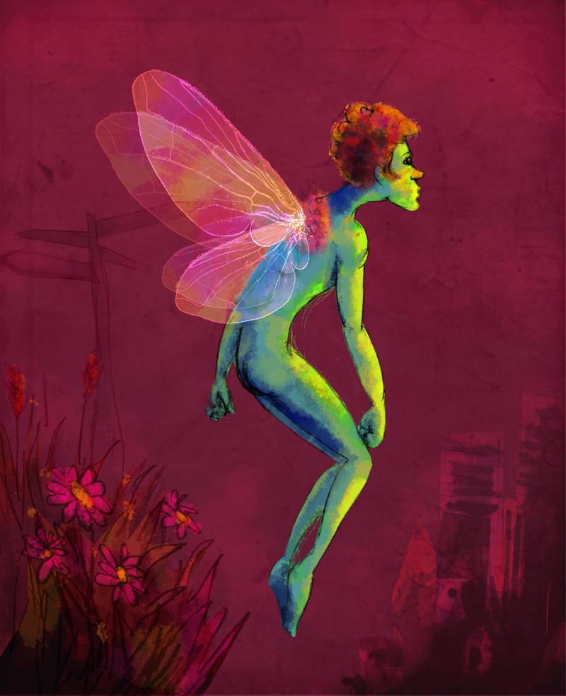 Fairy boy goes city by somewell