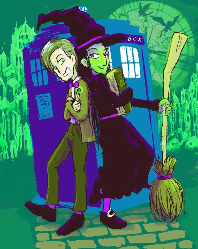 The Witch and The Doctor by somewell