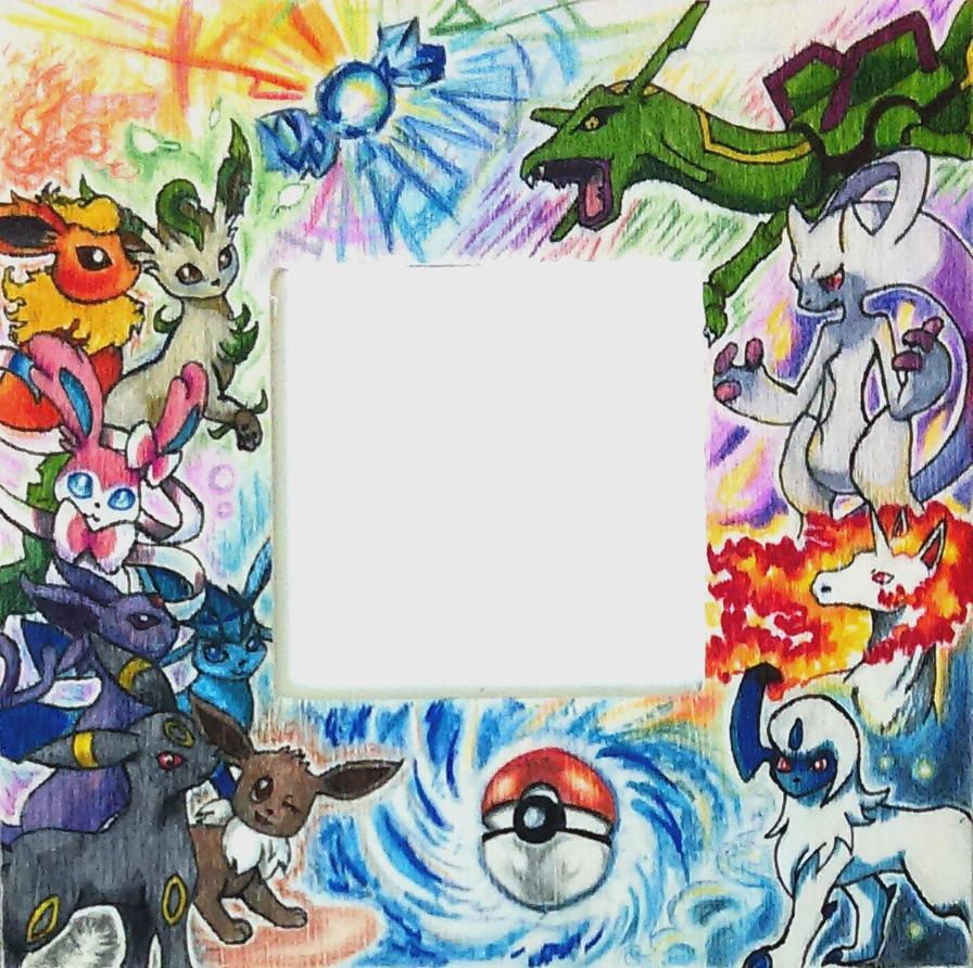 pokemon frame by mich spich