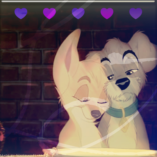 Angle and Scrap icon- Puppy love by Youshallfearme2
