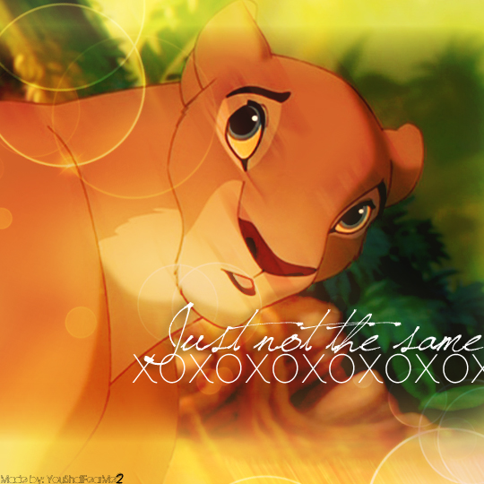 Nala Just not the same icon by Youshallfearme2