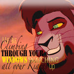 Kovu be snatching icon by YoUShalLFeArMe2