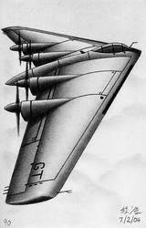 Flying Wing Bomber