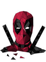 Polygons Deadpool by CaptainFLN