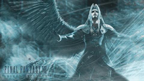 Sephiroth psp wallpaper -2- by
