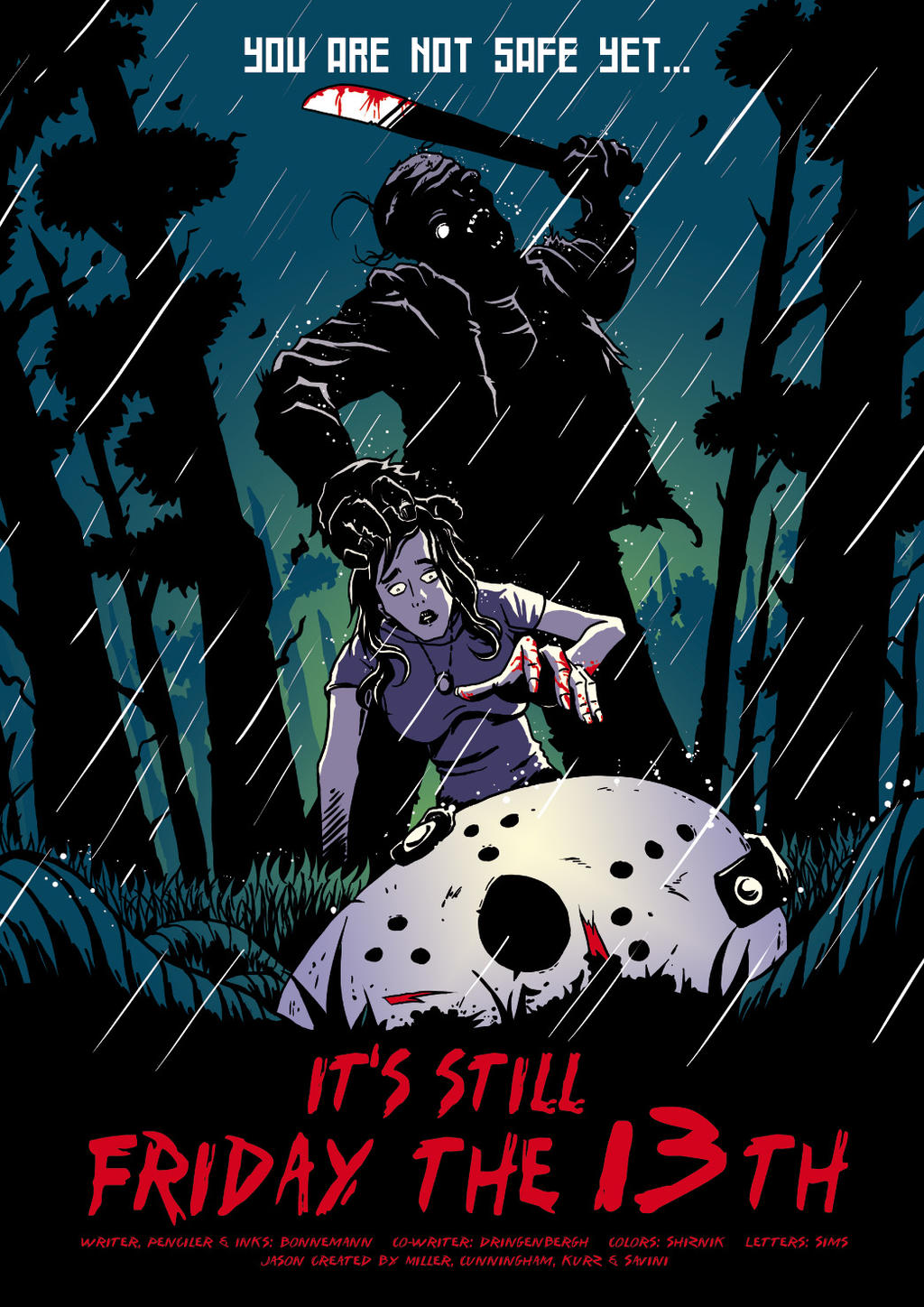 Friday the 13th 3 by abonny on DeviantArt