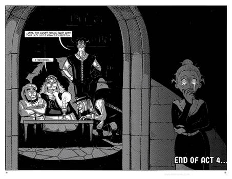 Grimm's Edge Act 4 pages 31 + 32 by Andy Grail