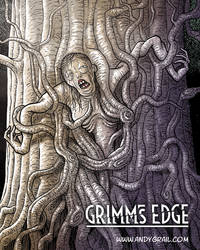 Grimm's Edge Tree Crone Color by Andy Grail