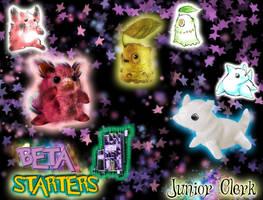 real Beta Starters Pokemon by JuniortheKing