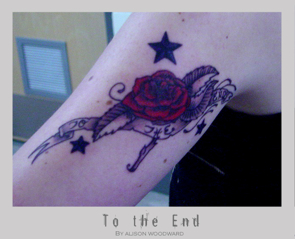 to the end tattoo by poofmongoose on deviantart. Black Bedroom Furniture Sets. Home Design Ideas