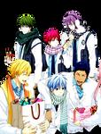 Kiseki no Sedai Valentine Render by scamp3451
