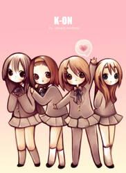 k-on by sakura-kindness