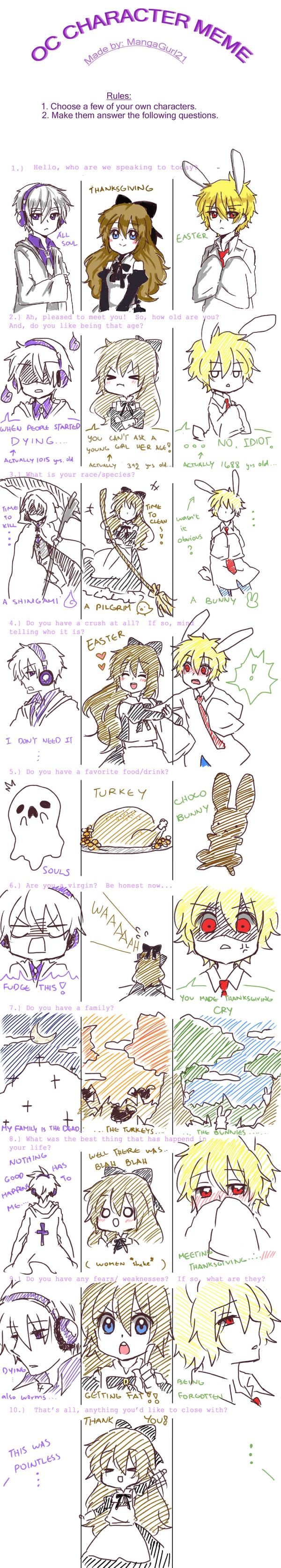My OC Meme~!!!! by OtakuPup
