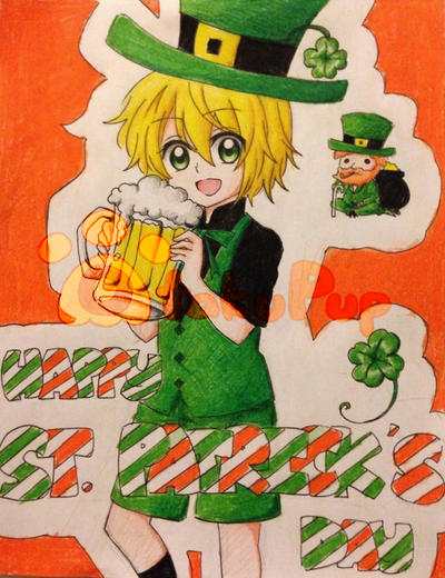 St. Patricks Day by OtakuPup