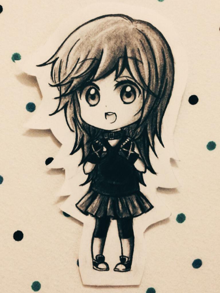 Chibi SoraHikarii by OtakuPup