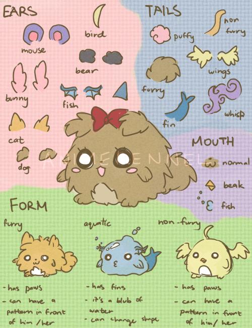 AK: Kennel Pets Reference Sheet by OtakuPup