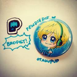 PewDiePie Pin by OtakuPup