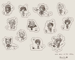 Mini Cheebs Commission Batch #9 by OtakuPup