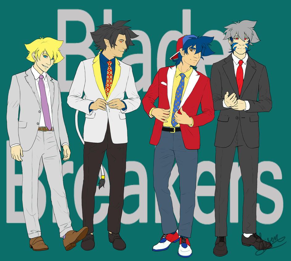 The Blade Breakers by Methanoos