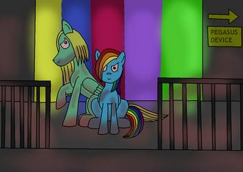Insane couple: RainbowBreeze Factory by DarkTentacles0666