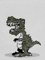 Jurassic Bark by BummerForShort