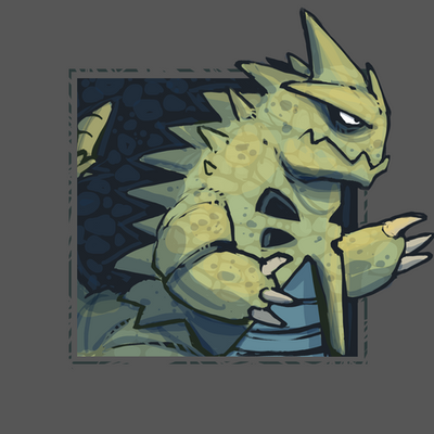 "FTM: Dark - Tyranitar, ""Gojira"" by Bummerdude on DeviantArt"