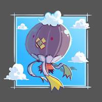 FTM: Flying - Drifblim 'Stratos' by BummerForShort