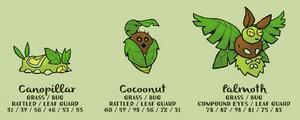 Canopillar, Cocoonut, Palmoth