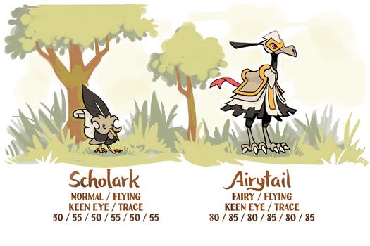 Scholark Airytail