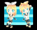 Vocaloid: Kagamine Rin and Len