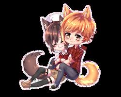 {chibi commission} Chokibelle (3/5)