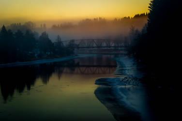 River bridge by ryder68
