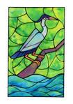 INKTOBER'19: not-so-grey heron
