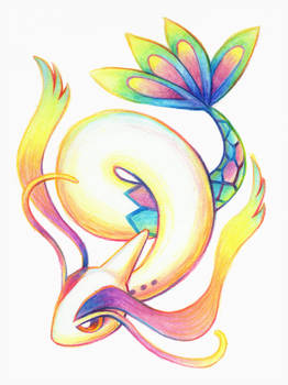 Pokemon No. 350: Rainbow Milotic