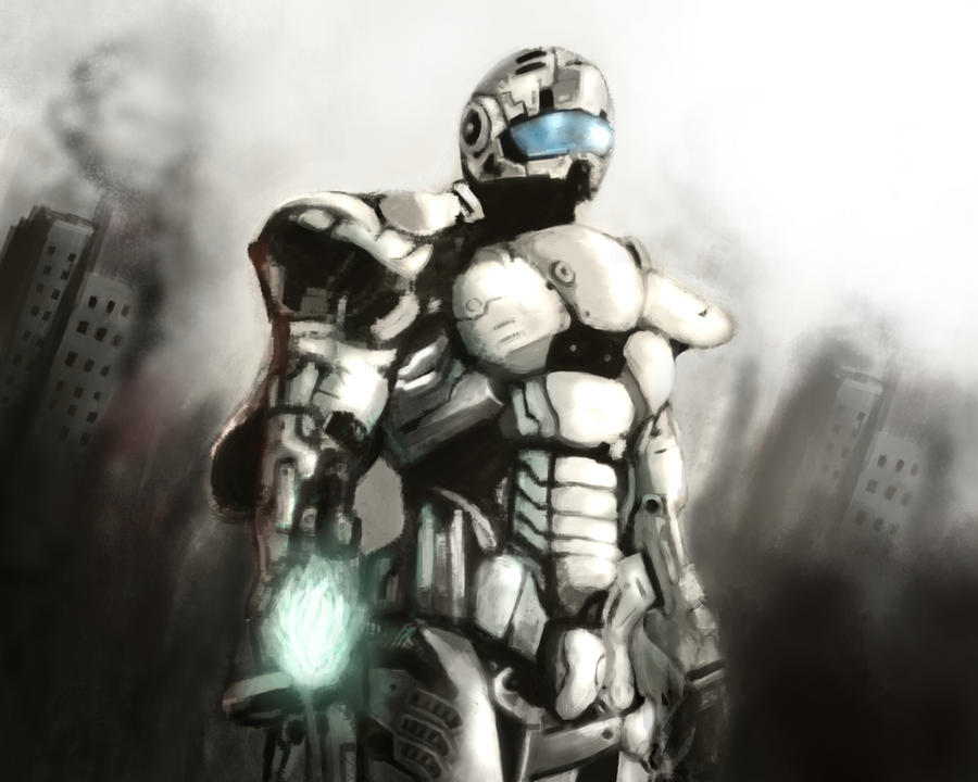 Vanquish Battle Suit by Fusionia on DeviantArt