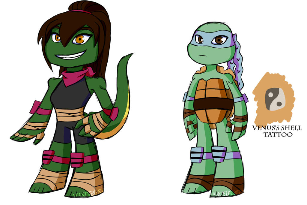 Tmnt Venus Coloring Pages