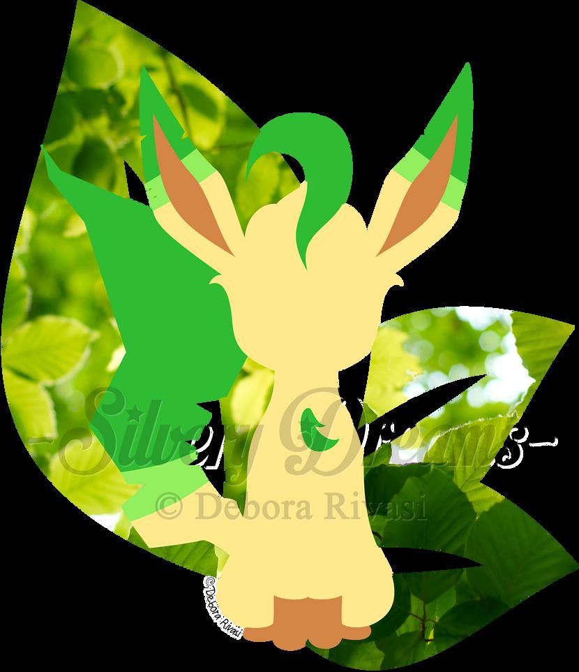 Minimal Leafeon by SilveryLugia
