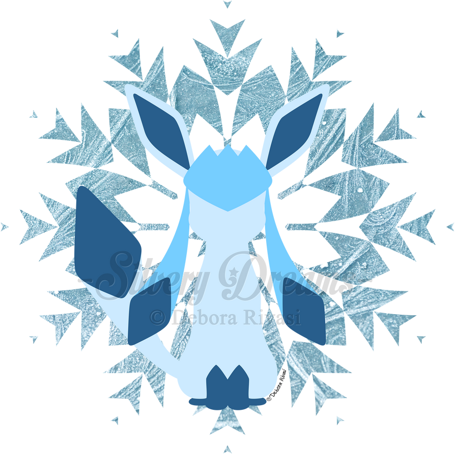 Minimal Glaceon by SilveryLugia