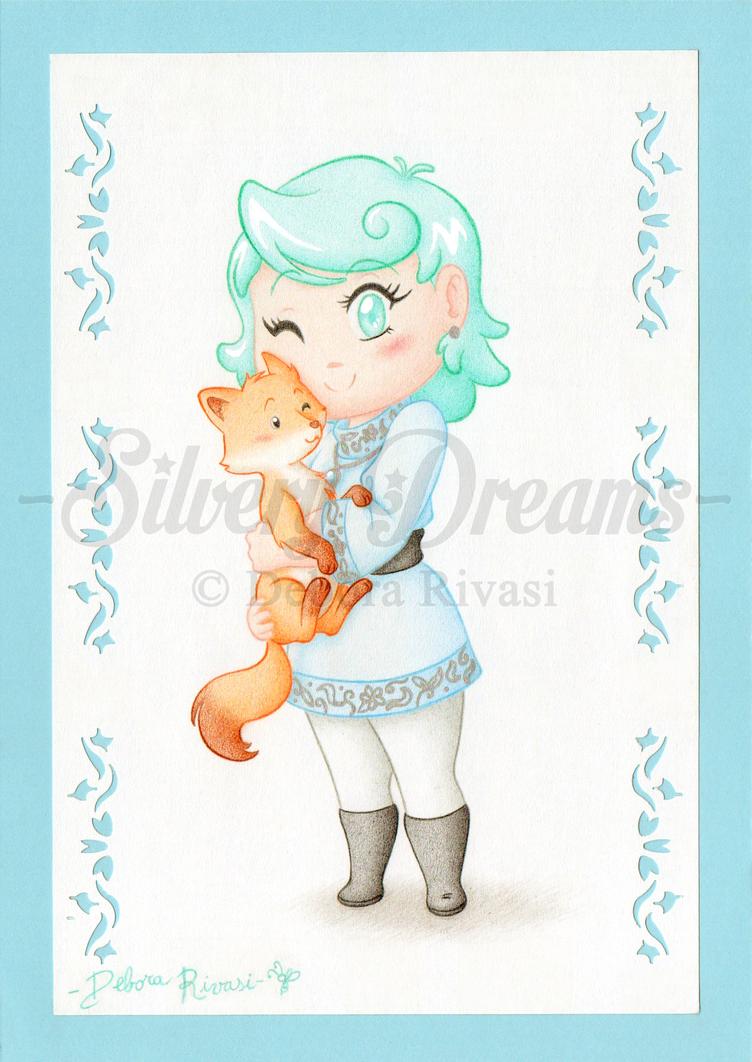 Chibi princess by SilveryLugia