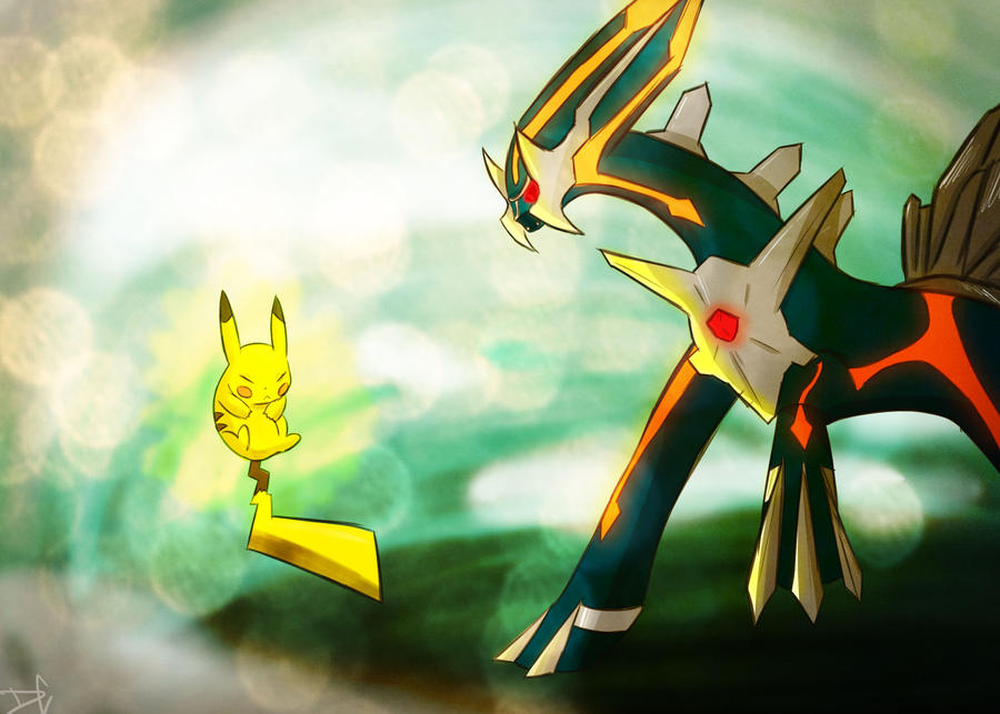 VS Primal Dialga by DC-san on DeviantArt